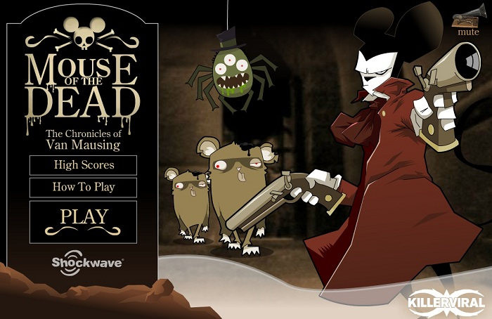 Браузерная игра Mouse of the Dead