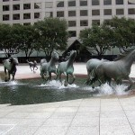 Mustangs By Robert Glen [Las Colinas, Texas, USA]