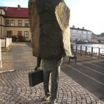 Памятник неизвестному бюрократу [Рейкьявик, Исландия]