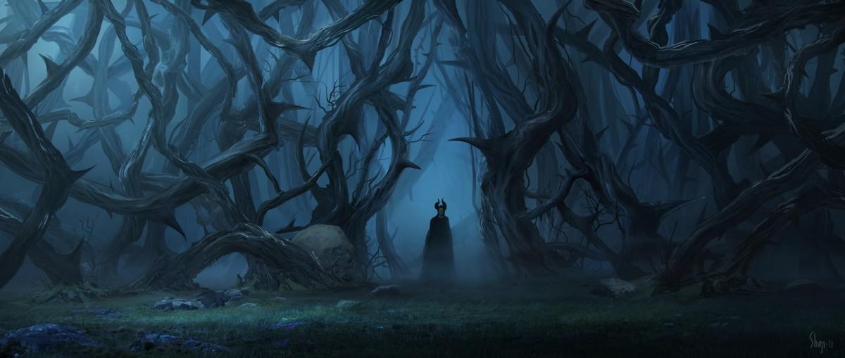 "Disney's ""MALEFICENT"" Conceptual Artwork ©Disney 2014"
